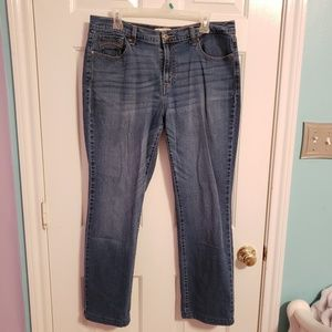 LEVI'S Simple Straight Leg Jeans